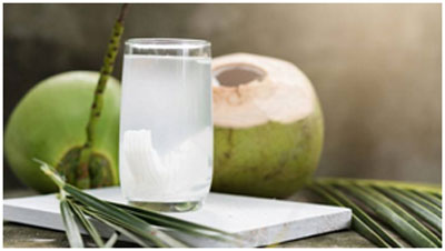 Coconut water has laxatives that regularizes the bowel movements and prevents constipation