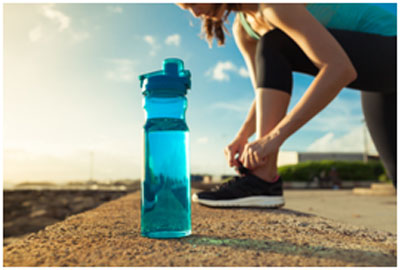 You need to drink enough water with your exercise routine to keep your body hydrated