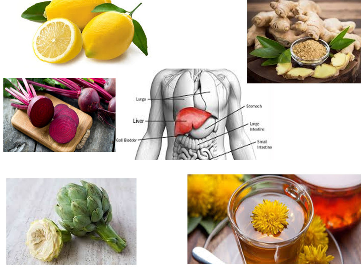 Foods Which Help In Detoxifying The Liver