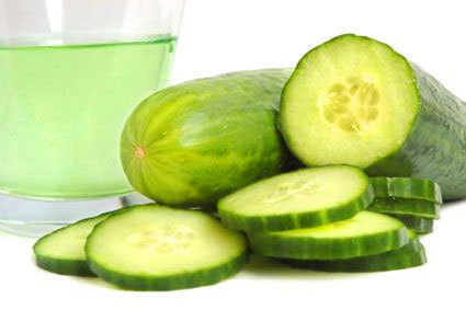 Homemade Cucumber Face Pack