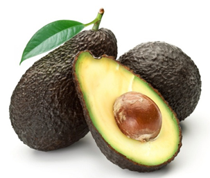 Avocado seed takes away dirt and impurities of the skin
