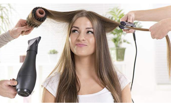 Don't hurt your hair