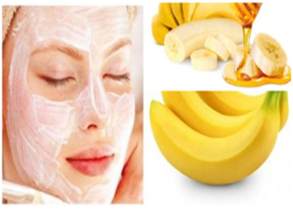 Banana helps in providing instant relief to the dry and patchy skin