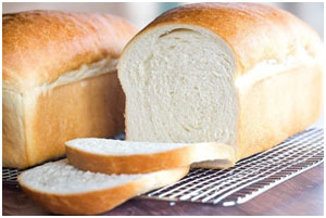 Bread has high carbohydrate and sugar content that raises insulin level