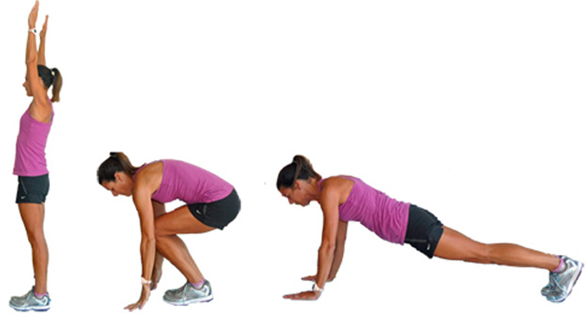 Burpees to Build Muscle Mass Burn Fat