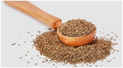 Carom seeds helps in opening up the nostrils and enhances the sense of smell