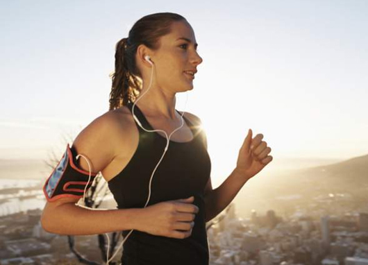 Cardiovascular Exercises Listen to Music
