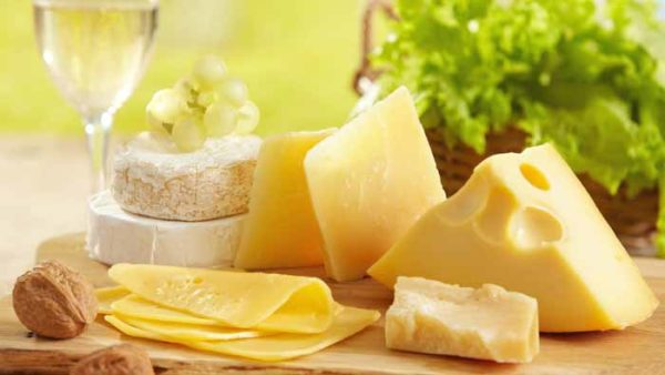 Cheese Health Benefits Prevents Cell Damage