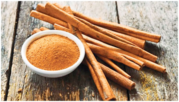 Cinnamon helps in preventing the blockage in heart and keeps it healthy