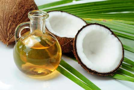 Coconut or olive oil for dull hair