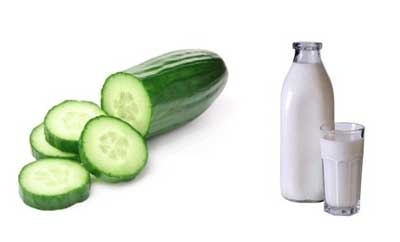 Cucumber for soft skin: