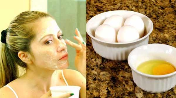 Egg White Face Mask for Oily Skin