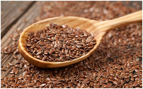 Flaxseeds are high in fiber so they keep the heart healthy