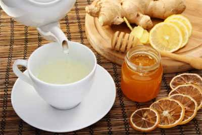 Ginger Tea to regulate energy