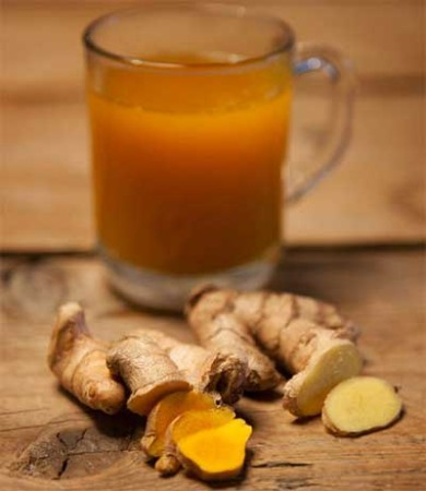 Use Ginger Turmeric Tea