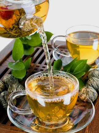 Green Tea & Herbs: Natural Fat Burning Foods