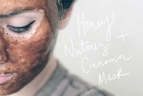 Honey Nutmeg Cinnamon Mask