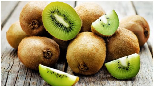 Kiwi is rich in vitamin C and E and it helps boosting the immunity of the body