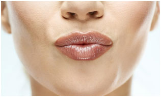 Castor oil is good for hydrating the lips and keeps them supple