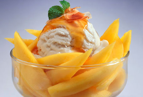 Summer Dessert Recipes Mango Ice Cream