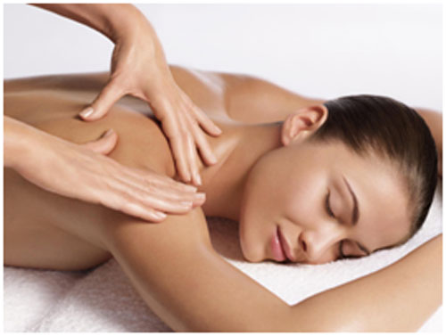 Massage helps in increasing the blood flow and keeps muscles relaxed