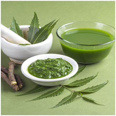Neem leaves are anti-fungal in nature that helps in treating itchy scalp