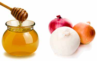 Onion and honey gives a facelift to the breasts by leaving them firm
