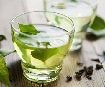Peppermint tea has anti-oxidants to shed extra flab