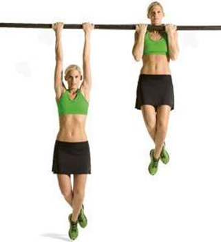Pull ups or chin ups Best Exercises to Increase Height