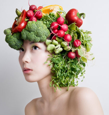 Amazing Raw Foods for Healthy Hair