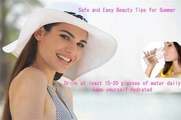 Woman's guide: Safe and Easy Beauty Tips for Summer