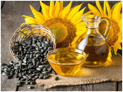 Sunflower seeds are rich in vitamin E that helps in fighting off cancer and keeps skin healthy
