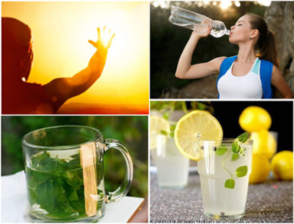 Here Are Some Natural Ways To Handle Sunstroke