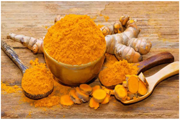 Turmeric has skin lightening properties that improves the texture of the skin