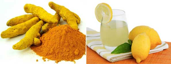 Turmeric and Lemon