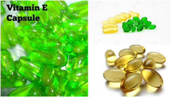 Vitamin E Capsule To Get Rid Of Dry Nose