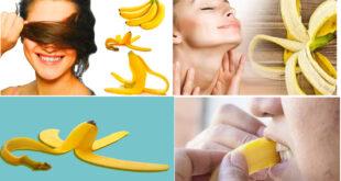 Amazing Benefits Of Banana Peel For Health, Skin And Household